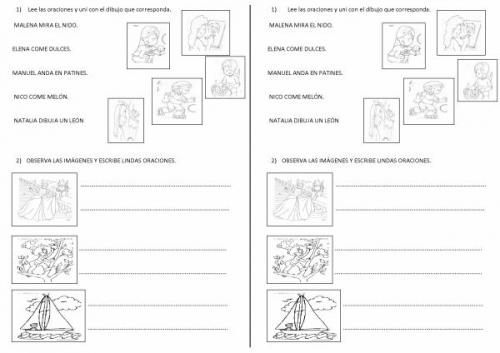 Ejercicios de matematica para primer grado primaria - Imagui
