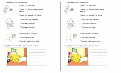 Actividades de matematica para primer grado - Imagui