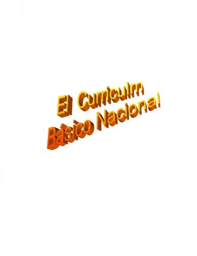 Documento curriculo basico nacional for Curriculo basico nacional