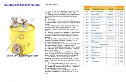 Documento DULCERO CON RATONES FELICES - grupos.