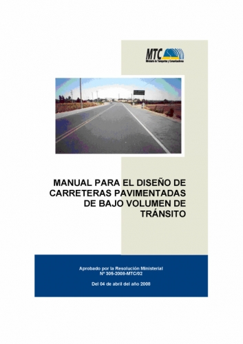 Documento manual de dise o de carreteras grupos for Manual de diseno y construccion de albercas pdf