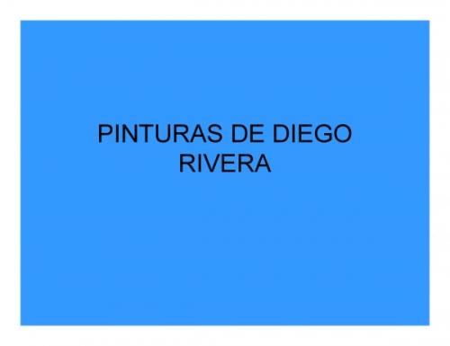 obras de diego rivera. PINTURAS DE DIEGO RIVERA