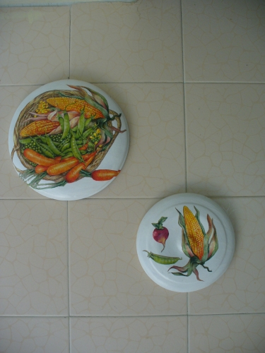 Imagen adornos para la cocina for Adornos pared cocina