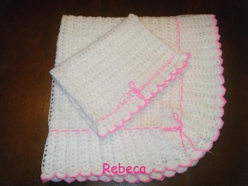 Cobijitas para bebé hechas con gancho - Imagui