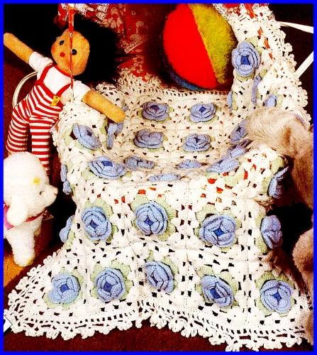 Colchas de crochet para bebe - Colchas ganchillo bebe ...