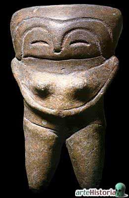 Cultura Valdivia Diosa de la Fecundidad