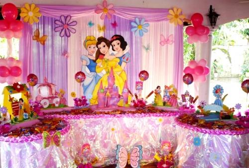 fiestas tematicas de princesas imagui