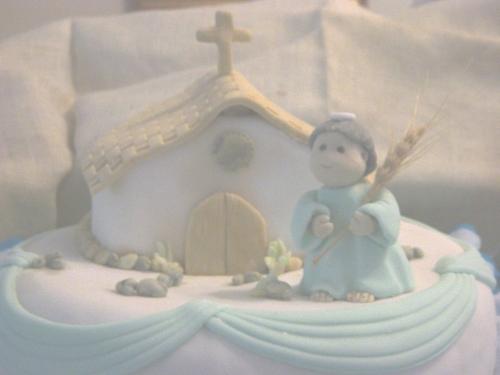 decoracion torta comunion