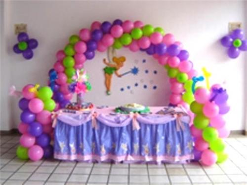 Decoracion Italiana Para Fiestas ~ Decoraci?n con globos de campanita  Imagui
