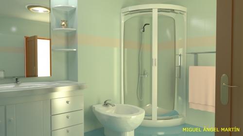 Imagen dise o de un cuarto de ba o - Diseno de cuarto de bano ...