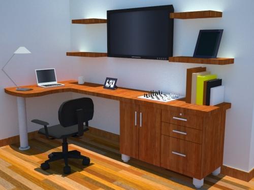 imagen esquema para mueble estudio