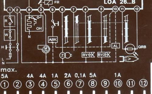 Imagen esquema programador loa 26 - Programador calefaccion siemens ...
