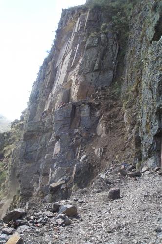 Imagen fermaciones metam rficas roca pizarra grupos for Pizarra roca