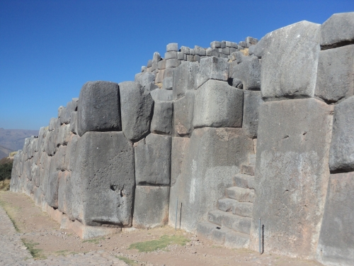 Fortaleza Sacsayhuaman Cuzco Per