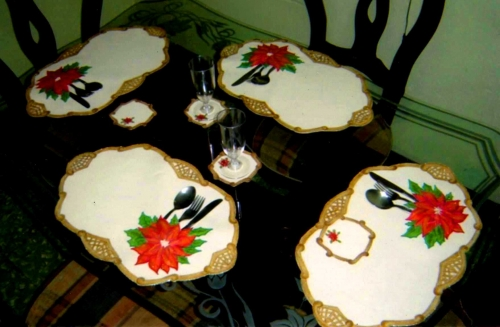 Pin manteles individuales para mesa phineas y ferbhlw recipientes cake on pinterest - Individuales para mesa ...