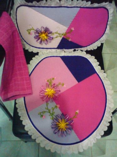 Juegos De Baño Bordados En Cinta:Imagen Juego de baño multicolor – gruposemagistercom