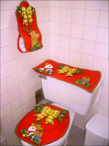 Juegos De Baño De Navideno Paso A Paso: de Grupo de Labores y manualidades Juego de baño para navidad