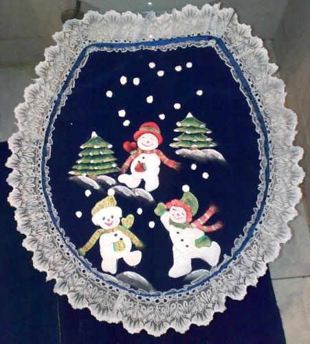Juegos De Baño De Navidad:Juego De Bano NAVIDENO