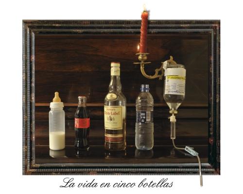 La vida se resume en ... 4 botellas