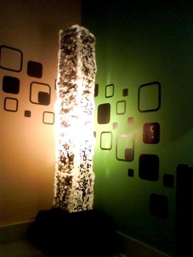 Cuadros con material reciclado super experto cmo hawaii - Lamparas para cuadros ...