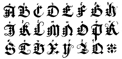 Letras goticas nombres | modelo de letras goticas | (letras goticas ...