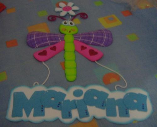 Mariposas y libelulas en fomi - Imagui