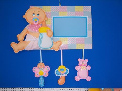 Adornos para cuarto de bebé en foami - Imagui