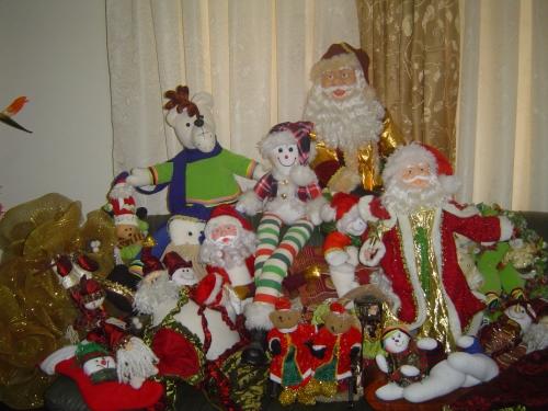 Imagen muñecos de navidad - grupos.