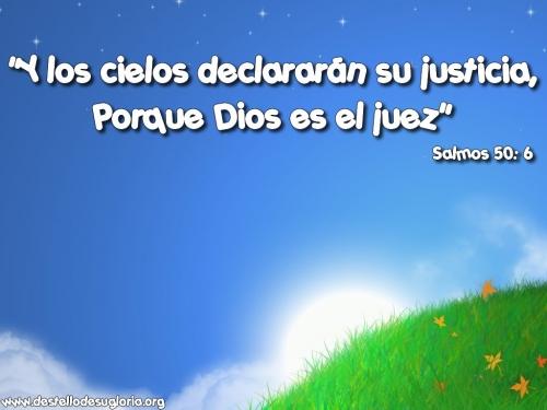 Imagen NO HAY JUSTICIA MAS PERFECTA QUE LA DE DIOS