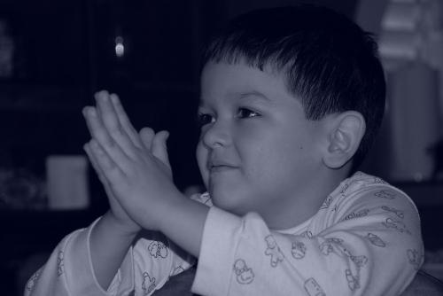 Orando a Dios, desde un coraz�n Puro