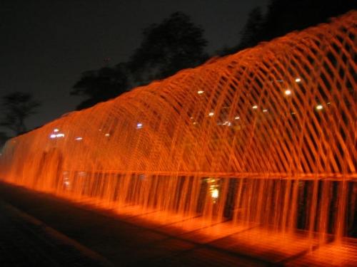 Parque de la aguas Lima-Per�