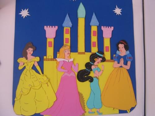 Las princesas de Disney moldes foami - Imagui