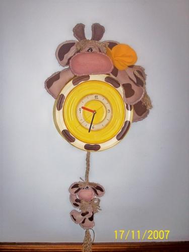 Manualidades luna clara - Manualidades relojes infantiles ...