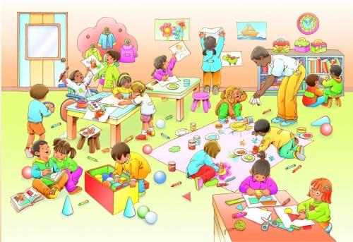 Dibujos de un salon de clases - Imagui