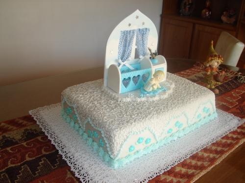 ... Imágenes de Grupo de Repostería > Torta bautismo