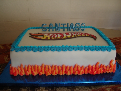 torta de hot wheels 2