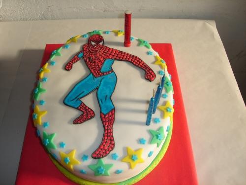 Imagen torta del hombre araña - grupos.emagister.com