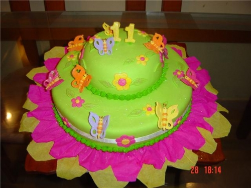 Tortas de moyivo mariposa - Imagui