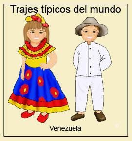 trajes de todos los países