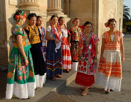 trajes regionales del estado de Oaxaca