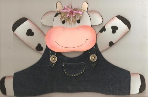 Vacas para la cocina en foami - Imagui