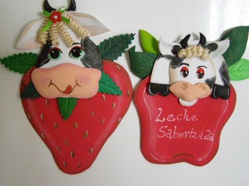 Vacas de fomi moldes - Imagui