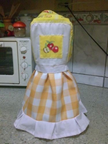 vestido de licuadora