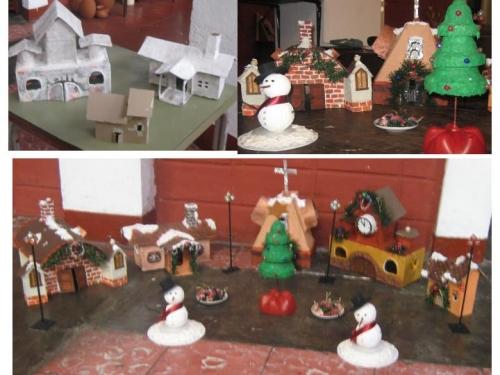 Imagen villas navide as for Villas navidenas de porcelana
